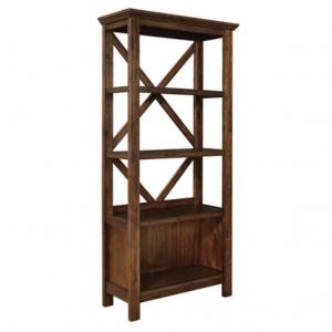 """Baldridge 75"""" Bookcase"""