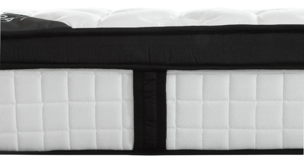 "Safora 10"" Sleep Perfection Foam and Coil King Mattress"