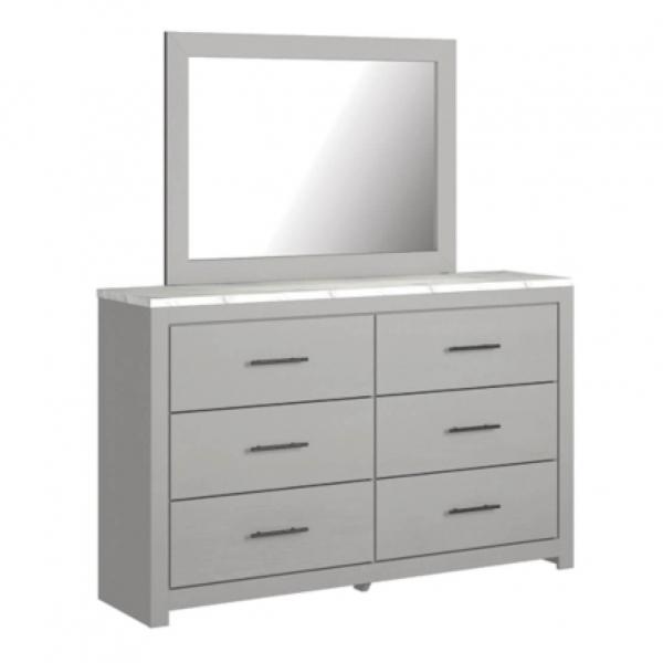 Cottonburg Dresser and Mirror