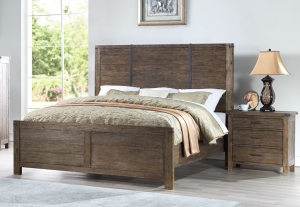 Geneva Queen Panel Bed