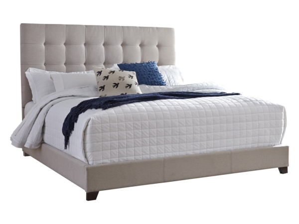 Darwin King Upholstered Bed