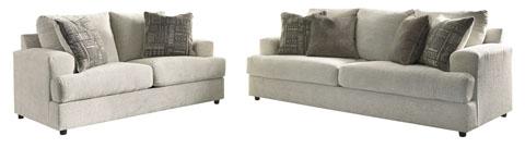 Struman Sofa + Loveseat Pair